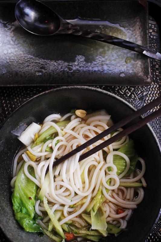 Les inoubliables nouilles de Guilin...