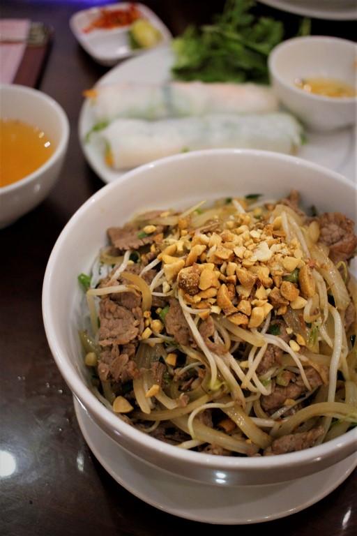 Un délicieux Bun Bo à Hanoï!